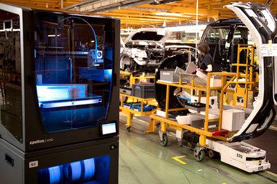 Nissan implenta utillajes 3d con BCN3D
