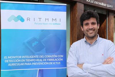 Óscar Lozano, CEO de Rithmi