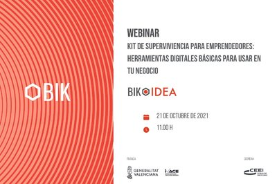 Presentación BIK WEBINAR. Kit de supervivencia emprendedora