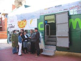 El emprendebus visita las Universidades Valencianas DPECV 2007