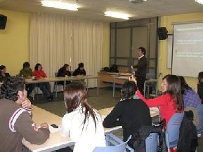 2009.Sesión IES Andreu Sempere