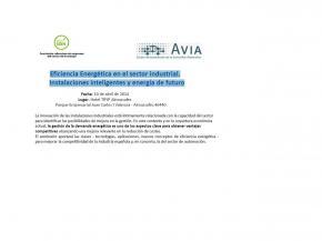 Programa: Eficiencia Energética en el sector industrial.