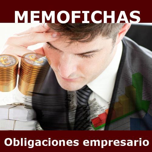 OTRAS OBLIGACIONES memofichas
