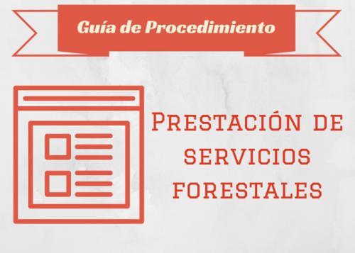 Guía Proc. Prestación de servicios forestales