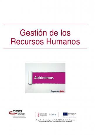 Manual para Autónomos: Gestión de los Recursos Humanos