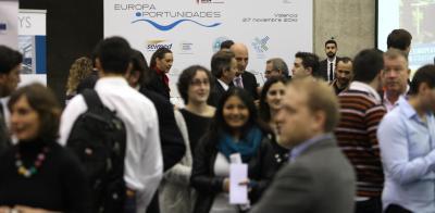 Asistentes a las jornadas Europa Oportunidades 2014