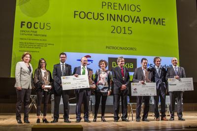 Acto de entrega de los Premios Focus Innova Pyme 2015