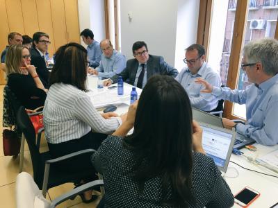 Reunión de la Secretaría Técnica