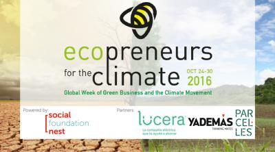 Ecopreneurs for the climate – #ECO4CLIM16