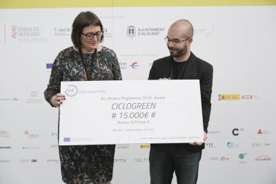 Premios Climate-KIC. Ciclogreen