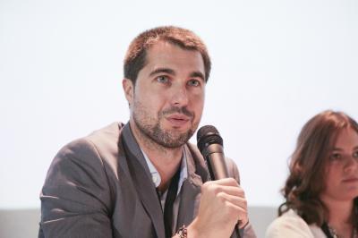 Joaquín Costa, Casfid, durant la sessió «D'startup a pime» de Focus Pime i Emprenedoria 2016