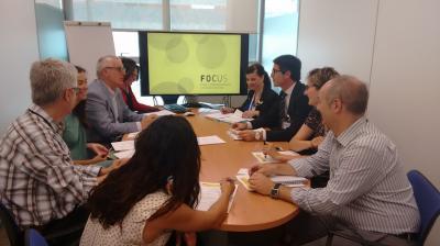 El grup de treball de Management es va reunir a la seu d'IVACE