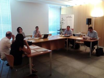 Imatge de la segona reunió del grup de treball Indústria 4.0