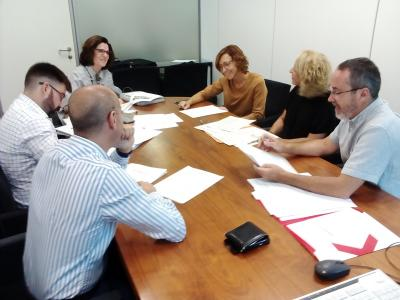 Segona reunió del grup de treball d'Internacionalització