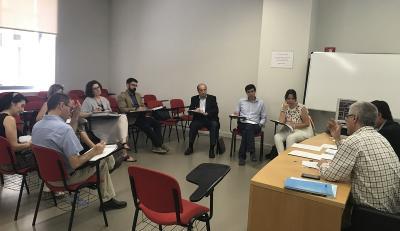 El comité executiu de Focus Pime i Emprenedoria 2017, en les instal·lacions d'IVACE