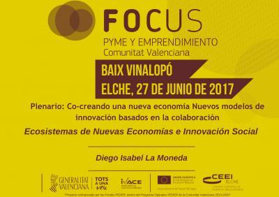 Ecosistemas de Nuevas Economías e Innovación Social. Diego Isabel La Moneda