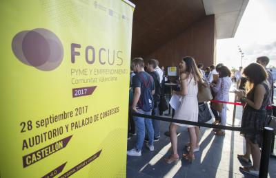 Ambiente de la jornada Focus Pyme CV 2017