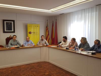 Reunión del Comité de Organización de Focus Pyme y Emprendimiento La Costera - La Canal de Navarrés