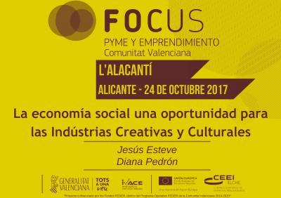 La economía social una oportunidad para las Industrias Creativas y Culturales