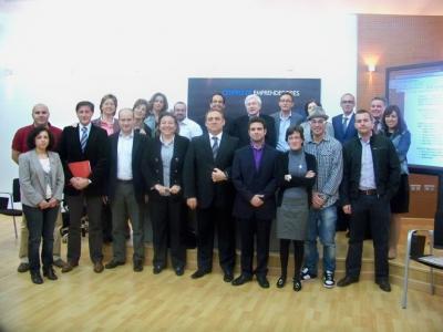 Imagen de la primera reunión del Observatorio de Inserción Laboral y la Unidad de Innovación
