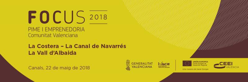 Banner Focus Pyme La Costera - La Canal de Navarrés - La Vall d'Albaida