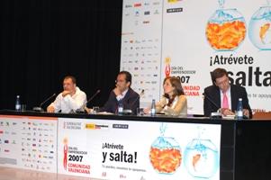 José María Gómez Gras modera plenario del DPECV 2007