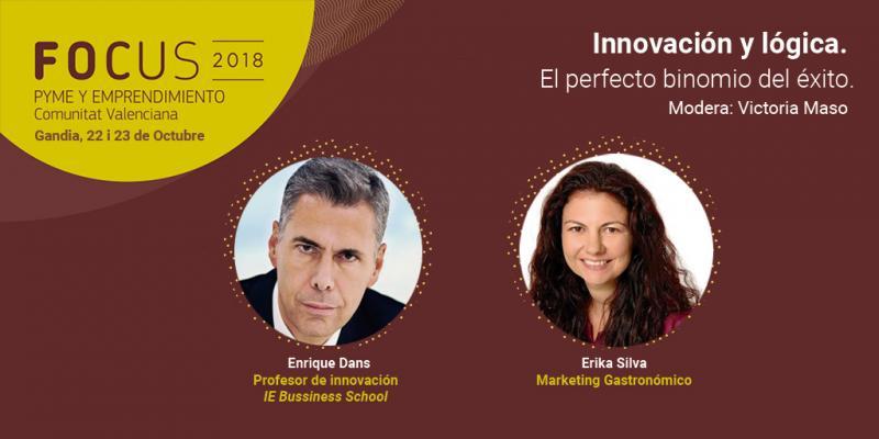 Enrique Dans y Erika Silva, tendencias de innovación en Focus Pyme