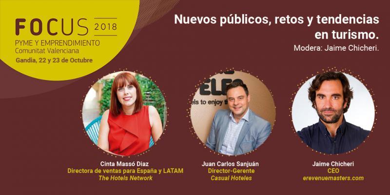 Nuevos publicos, retos y tendencias en turismo