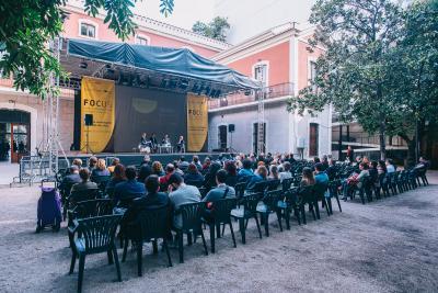 Sesión en el jardín Focus Pyme y Emprendimiento 2018