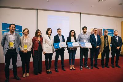 Entrega de premios Concurso 5UCV Startup, V Edición. Focus Pyme y Emprendimiento CV 2018