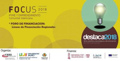 Ponencia de Justo Vellón de CEEI Castellón. FORO DE FINANCIACIÓN