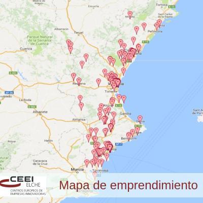 Más de una treintena de entidades se suman al Mapa del Emprendimiento