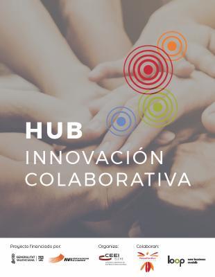 Díptico HUB de Innovación Colaborativa