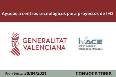 Ayudas Centros Tecnológicos CV