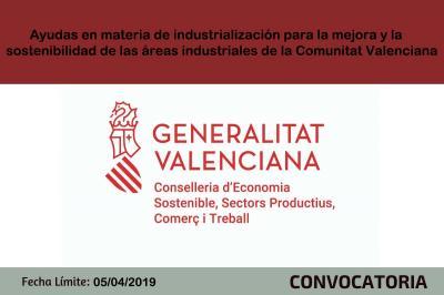 Ayudas en materia de industrialización