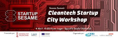 Cleantech Startup City Workshop