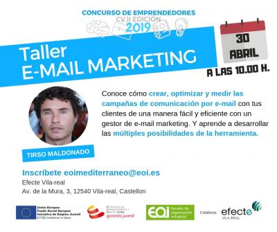 "Taller ""E-mail marketing"""