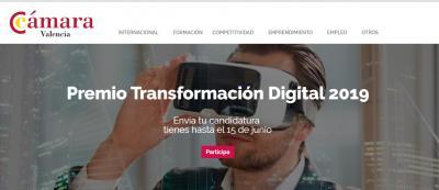 Premio Transformación digital 2019