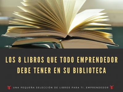8 libros para emprendedores