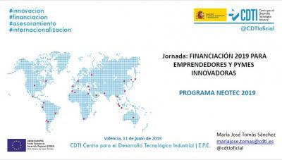Convocatoria Programa NEOTEC. CDTI
