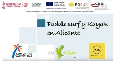 Paddle surf y kayak en Alicante con Blue Valley Watersports