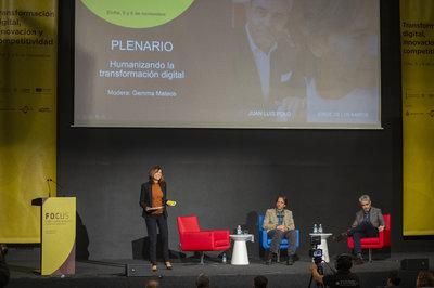 Plenario Humanizando la tecnología. Focus Pyme CV 2019