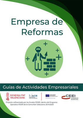 Actividades de construcción y reformas. Empresa de reforma.