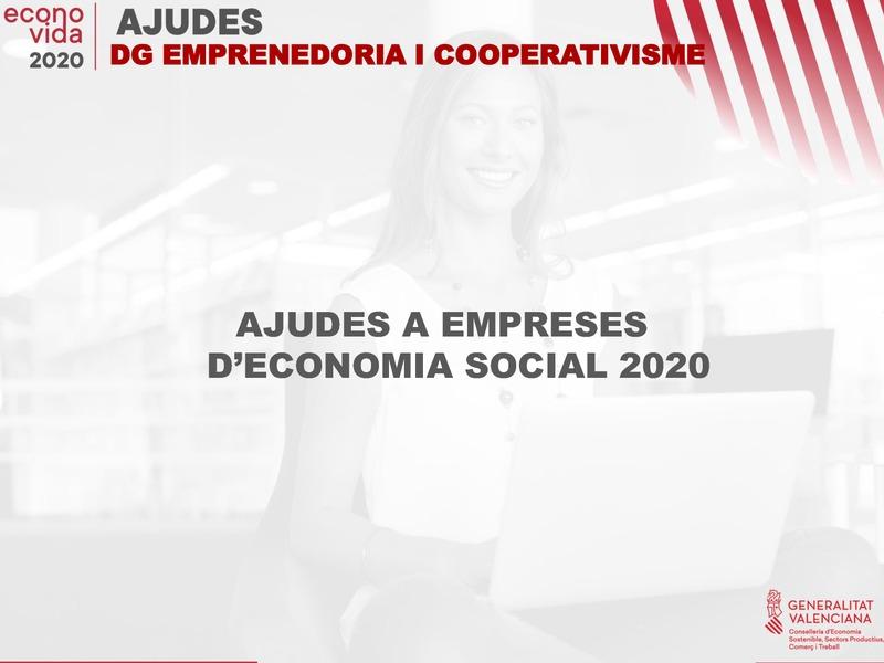 Líneas Dirección General de Emprendimiento y Cooperativismo 2020