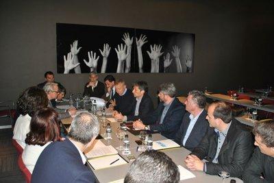 Reunión Plataforma por la Reindustrialización