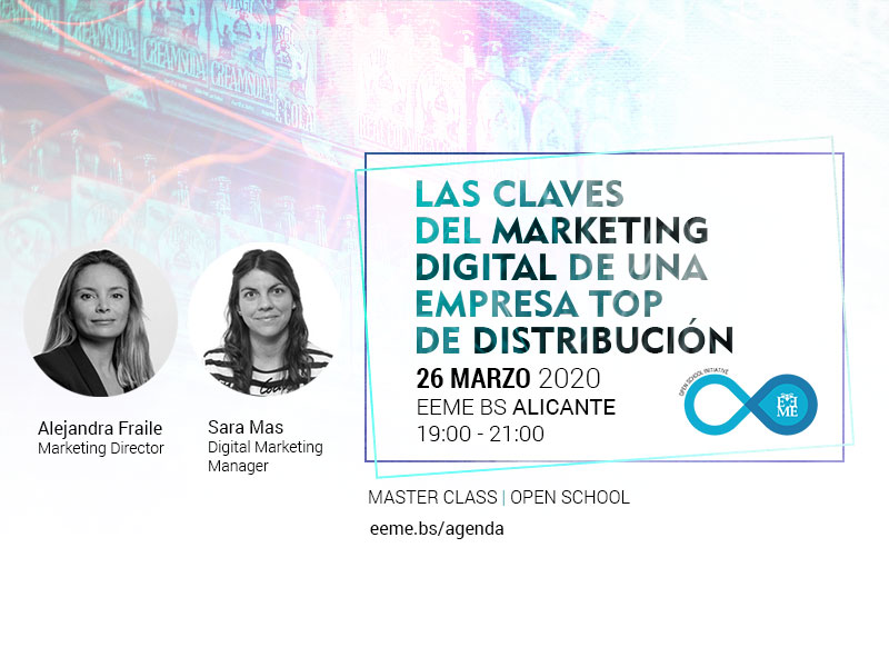 Master Class: Las claves del Marketing Digital en una empresa top de distribución