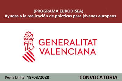 Ayudas prácticas profesionales. Programa Eurodisea