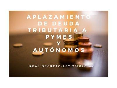 Aplazamiento deuda
