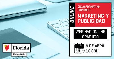 Webinar Ciclo Marketing y Publicidad - Online - Tu futuro a un click