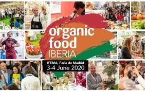 Feria Organic Food Iberia en IFEMA los días 3 y 4 de septiembre